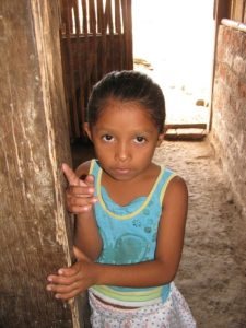 Nica child at rural outreach