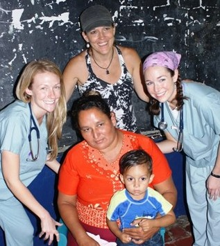 Nurses and Cheri of MOG, with patients, remote - WHSO 2010