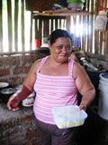 Marcia, an invaluable member of the Las Salinas Nica Team
